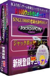 ジャックポットシティーカジノ登録マニュアルPDFファイル