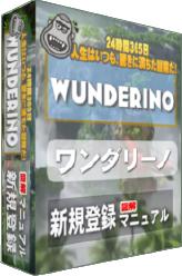 ワンダリーノカジノ登録マニュアルEBOOK